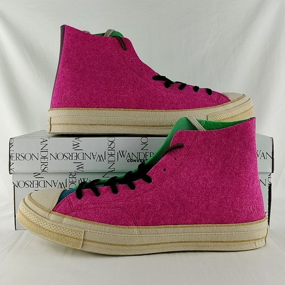 f1617934b8 Converse Shoes | X Jw Anderson Felt Chuck 70 High Top Shoe | Poshmark